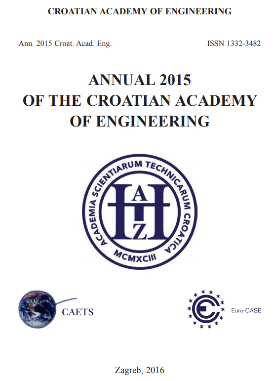 ANNUAL 2015 OF THE CROATIAN ACADEMY OF ENGINEERING