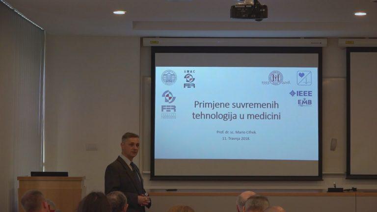 Prof. dr. sc. Mario Cifrek: Primjene suvremenih tehnologija u medicini