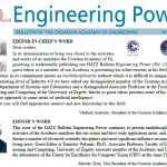 """Engineering Power"" Vol. 13(2) 2018"