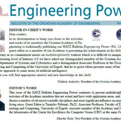 """""""Engineering Power"""" Vol. 13(2) 2018"""