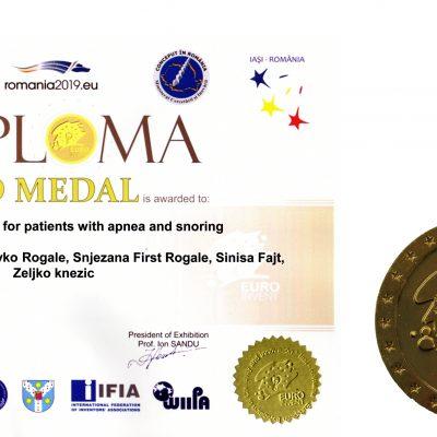 Članovi HATZ-a osvojili zlatnu medalju za inovaciju inteligentna odjeća za detekciju apneje i hrkanja