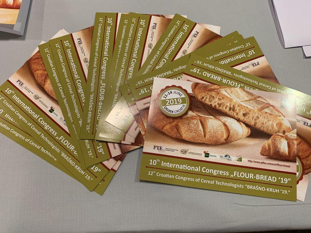 """Održani 10. međunarodni kongres """"Flour-Bread '19""""  12. hrvatski kongres tehnologa žitarica """"Brašno-kruh '19."""""""