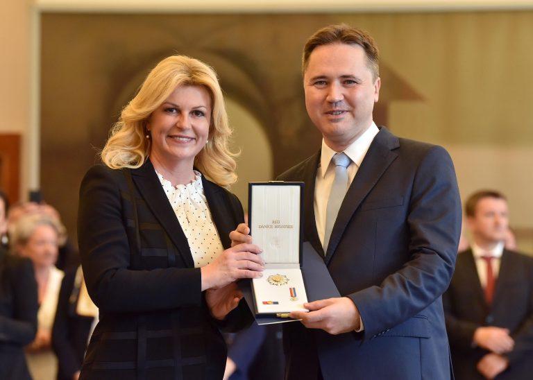 Prof. dr. sc. Mislavu Grgiću dodijeljeno odlikovanje Red Danice hrvatske s likom Ruđera Boškovića
