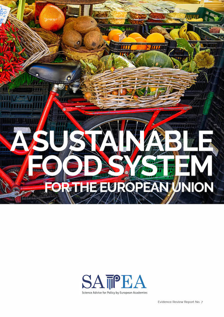 "SAPEA Izvješće- ""Sustainable food system for the European Union"" – prof. dr. sc. Verica Dragović Uzelac"