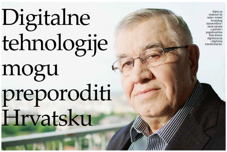 """Intervju prof. dr. sc. Nedjeljka Perića – """"Digitalne tehnologije mogu preporoditi Hrvatsku"""""""