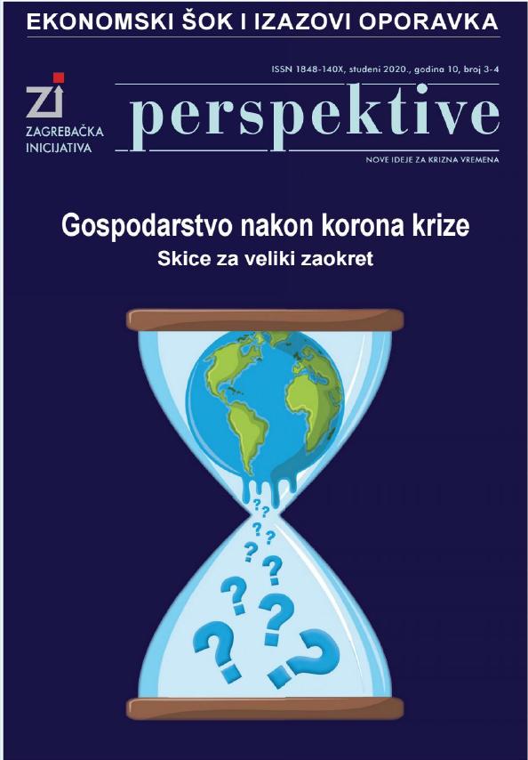 "Časopis Perspektive, studeni 2020. – članak ""Tehnološki napredak temelj konkurentne privrede"" prof. dr. sc. Nedjeljka Perića, professora emeritusa"