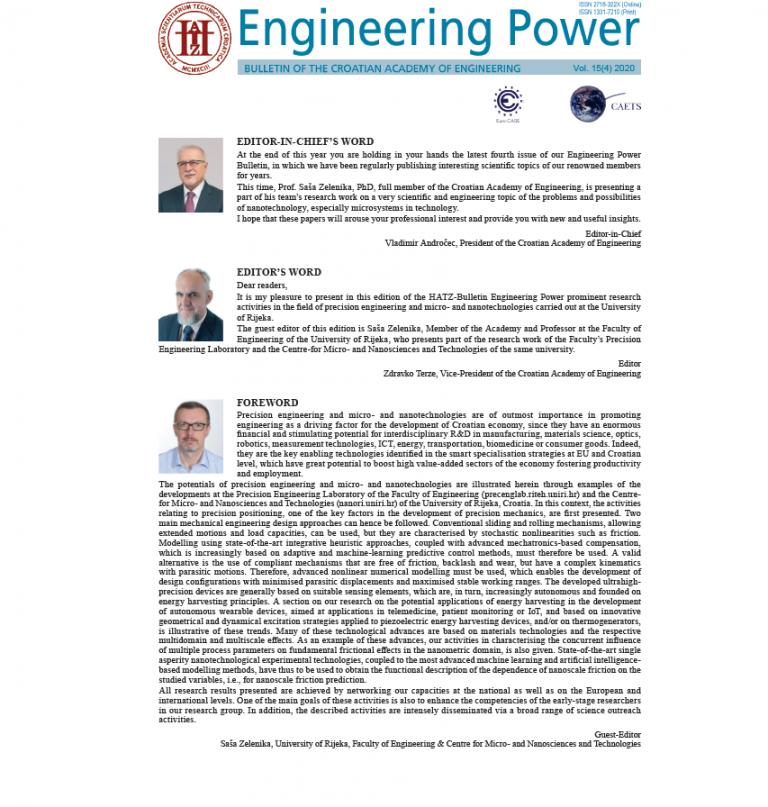 Engineering Power Vol 15(4) 2020