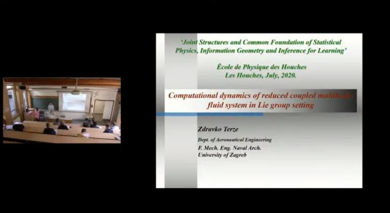 Dopredsjednik HATZ-a, prof. dr. sc. Zdravko Terze – predavanje na Ėcole de Physique des Houches