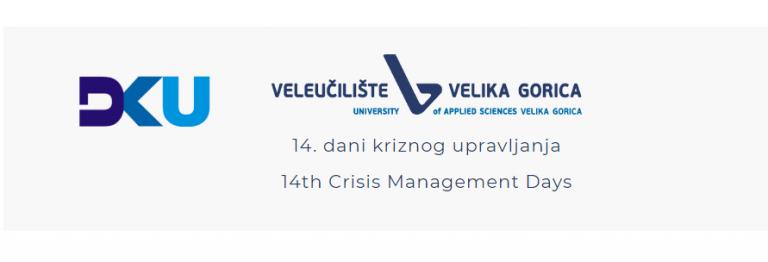 """Veleučilište Velika Gorica – Konferencija """"14. dani kriznog upravljanja – DKU 2021"""""""