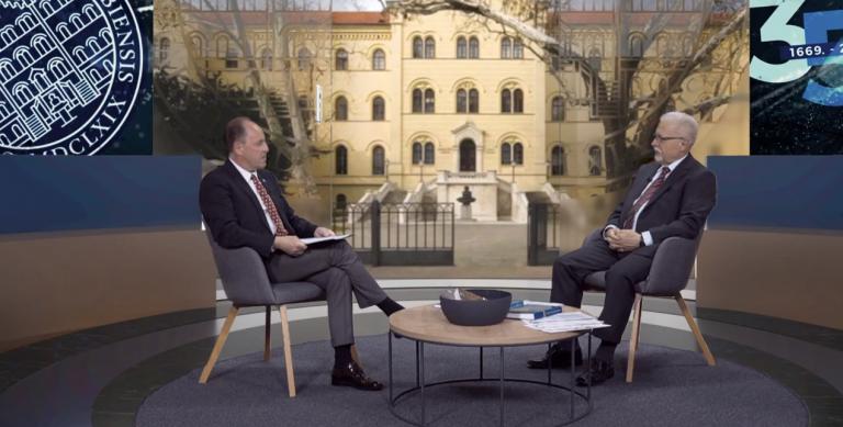 Emisija Sveučilišni Zagreb – GOST prof. dr. sc. Vladimir Andročec