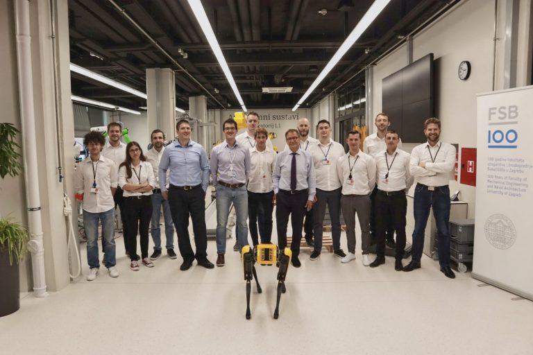 CRTA na FSB-u: otvoren regionalni centar izvrsnosti za robotske tehnologije