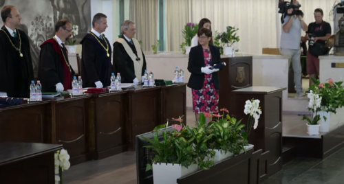Počasni doktorat Sveučilišta u Miškolcu prof. dr. sc. Biljani Kovačević Zelić